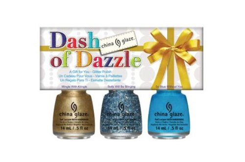 China Glaze 3 Piece Holiday Set, Dash of Dazzle