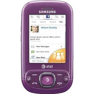 Samsung Strive A687 Phone, Purple (AT&T)
