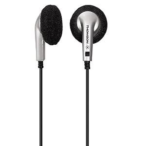 Thomson HED54N Mini écouteurs intra-auriculaire 1,2 m Argent