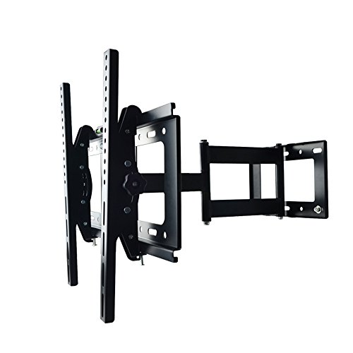 Sunydeal Articulating Arm Tv Wall Mount Bracket For 30-60 Inch Lcd, Led And Plasma Flat Screen Tvs Up To Vesa 500X400 And 75 Lbs, With Tilt & Swivel Motion