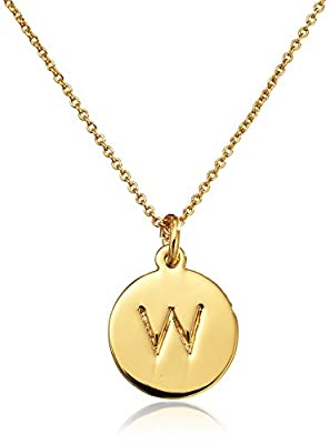 kate spade new york Alphabet Pendant Necklace, 18""