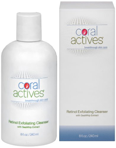 CoralActives Retinol Exfoliating Cleanser, 8 Ounce