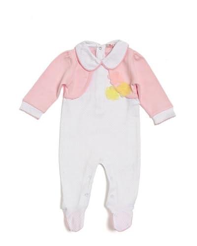 Trudi Coordinato Bebè [Bianco/Rosa]
