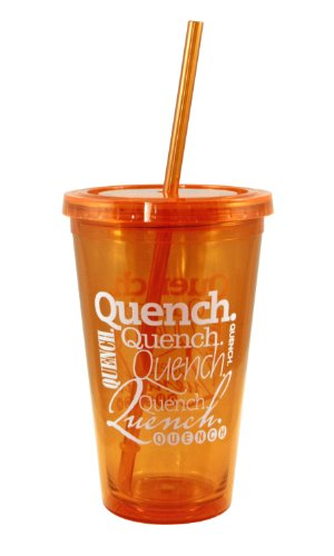 Custom Tumblers With Straw front-1045954