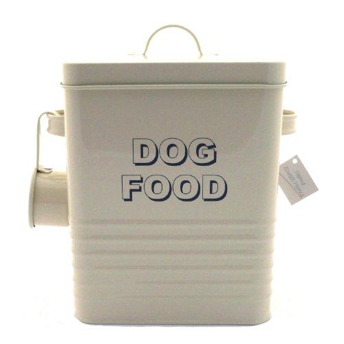lesser-pavey-bote-para-almacenar-la-comida-del-perro-20-cm-diseno-con-texto-dog-food-color-blanco-y-