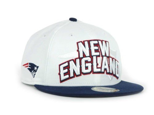 New England Patriots New Era NFL White Draft 59FIFTY Hat - Size 7 3/8 at Amazon.com