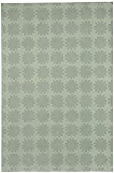 "5'6"" x 8'6"" Rectangular Safavieh Area Rug MSR1235D-6 Poseidon Color Hand Hooked China ""Martha Stewart Collection"" Astronomy Design"