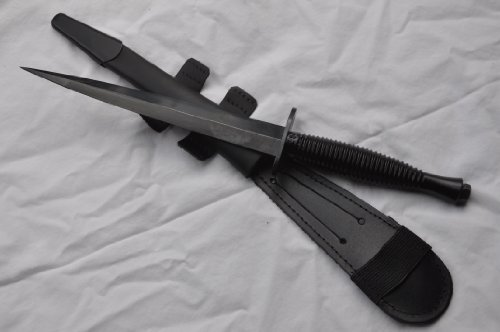 Genuine Black Commando Knife Sheffield Fairbairn Sykes J Nowill And Sons