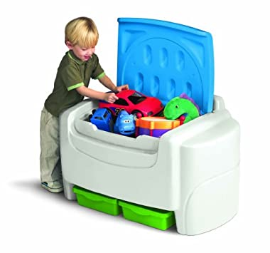 Lovely Storage Racks u Chests Little Tikes Bold N Bright Toy Chest