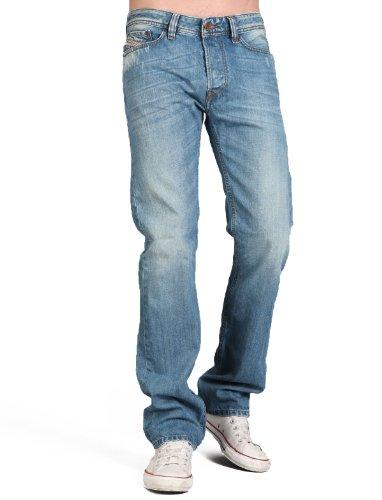 Diesel Viker Rhn8 Straight Blue Man Jeans Men - W31 L32