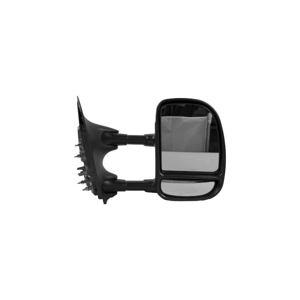 OE Replacement Ford Super Duty Pickup Passenger Side Mirror Outside Rear View (Partslink Number FO1321226)