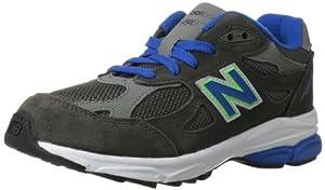 New Balance KJ990 Pre Running Shoe (Little Kid),Grey/Blue,11 M US Little Kid