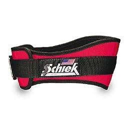 Schiek SSI-2004-RED-M Shape That Fits Lifting Belt 4-3/4 W x 31-36 Waist Red Medium