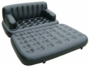 Pure Comfort 5-in-1 Inflatable Sofa Bed from Pure Comfort