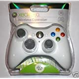 xbox 360 rapid fire wireless controller whiteby Microsoft