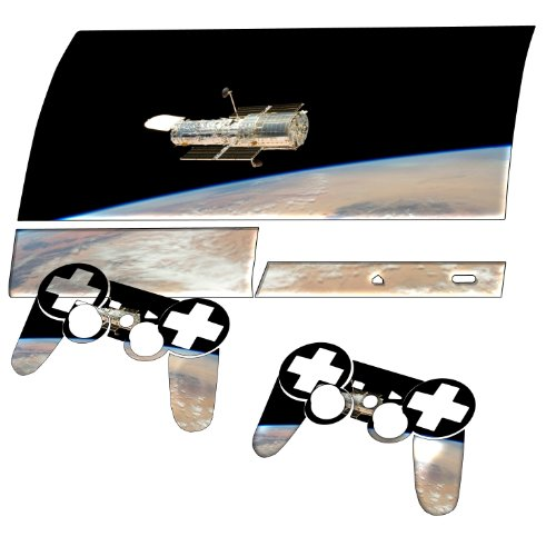 """Space"" 10012, Sticker For Playstation 3 Fat Game Console."