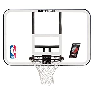 Spalding NBA Team Logo Basketball Backboard and Rim Combo with 44 Inch Acrylic... by Spalding