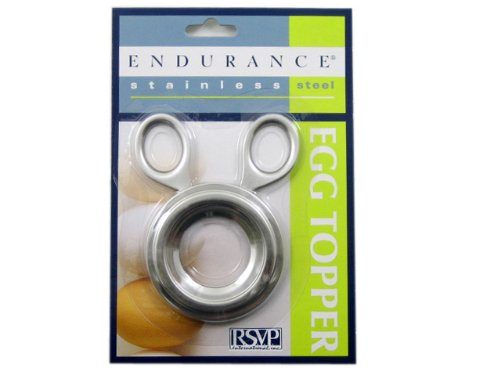 RSVP Endurance Stainless Steel Egg Topper