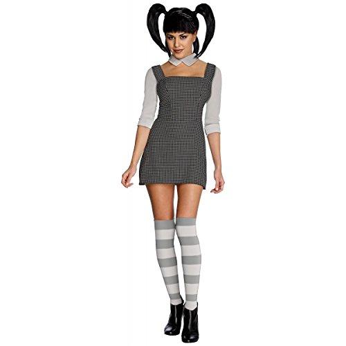 [GSG Gothic Creepy Doll Costume Adult Elsa Van Helsing Halloween Fancy Dress] (Van Helsing Fancy Dress Costume)