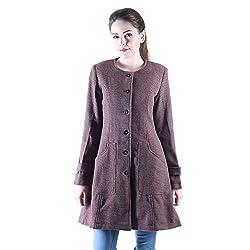 Owncraft brown tweed coat for women