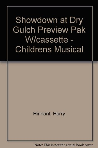 showdown-at-dry-gulch-preview-pak-w-cassette-childrens-musical