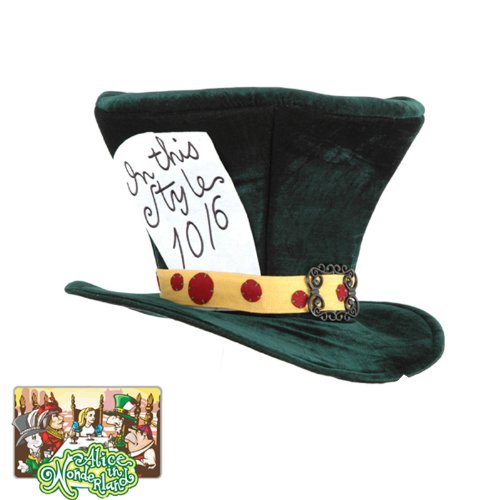Elope Alice In Wonderland - Classic Mad Hatter Hat