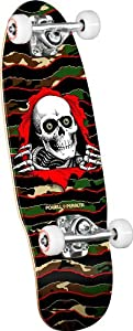 Powell Paralta Skateboard / Komplett-Board grün Camo 19 cm (7,5 Zoll)