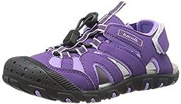 Kamik Oyster Sandal (Toddler/Little Kid/Big Kid), Purple, 7 M US Big Kid