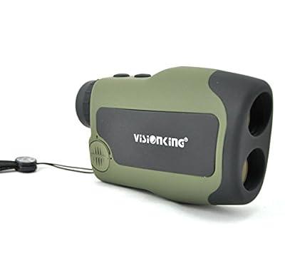 Visionking Range Finder 6x25 Hunting Rangefinder for Golf 600 yards Hunting Green by Visionking Optical