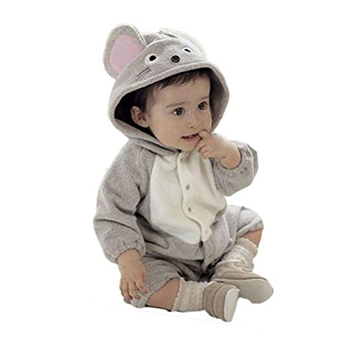 Little Hand Unisex Baby Mouse Mice Costume Romper Playsuit Outfits