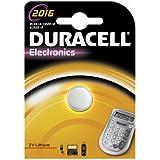 """DURACELL Lot de 2 piles bouton lithium """"Electronics"""" CR2016"""