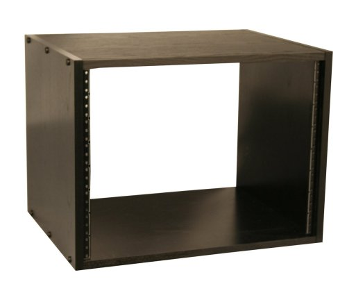 Gator Cases Studio Rack Cabinet (Black, 8 Space) (Rack Cabinet compare prices)