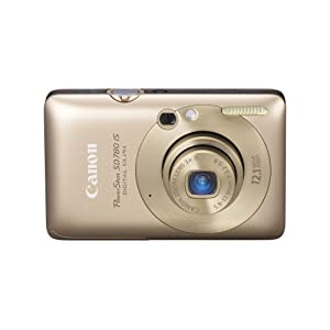 canon gold digital camera