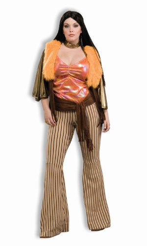 Forum Novelties Women's Plus-Size 60's Mod Revolution Babe Costume