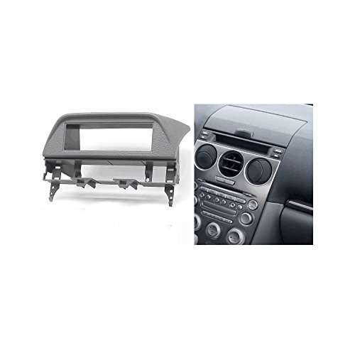 autostereo-11-406-Auto-Radio-Installation-Kit-fr-Mazda-6-Atenza-2002-2007-grau-Autoradio-Einbaurahmen-Radio-Radio-Adapter-Rahmen-Faszie-Adapter-Mazda-6-Radioblende-Rahmen