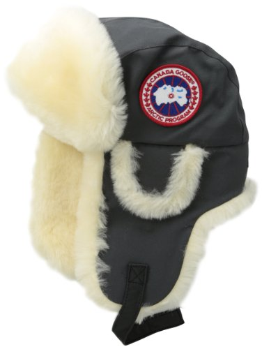 Canada Goose Men s Shearling Pilot Hat - Arctic Tech - Import It All 743e26519e1e