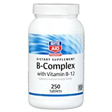 Rite Aid B-Complex with Vitamin B-12 250 ct.