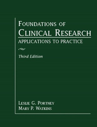 Foundations of Clinical Research: Applications to...