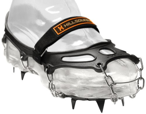 Hillsound Trail Crampon Traction Device, Black,