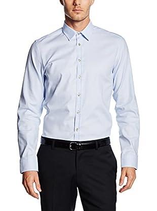 Seidensticker Camisa Vestir (Azul Claro)