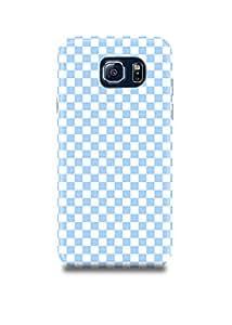 Blue & White Plaid Samsung Note 5 Case