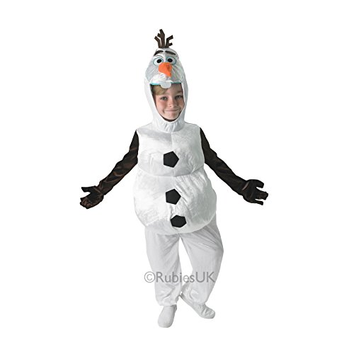 Rubies Childrens Disney Frozen Snowman Olaf Fancy Dress Costume