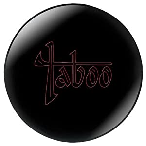 Hammer Taboo Bowling Ball, Black, 15