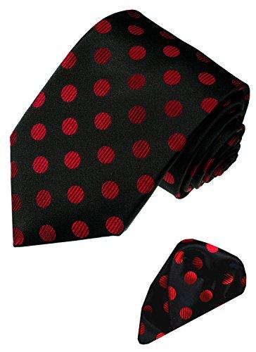 LORENZO CANA - Marken Krawattenset aus 100% Seide