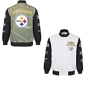 Pittsburgh Steelers Commemorative Trophy Champions Jacket