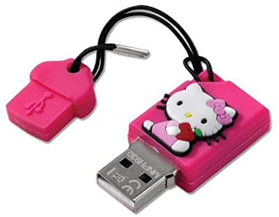 Hello Kitty HEM110C 2GB Rubber USB - Pen Drive by Hello Kitty