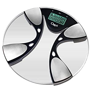 Ozeri Gen II Digital Bath Scale with Body Weight (440 lbs), Fat, Hydration and Auto Recognition Technology