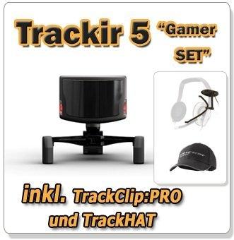Trackir 5 Set gamer complet avec trackclip professionnel