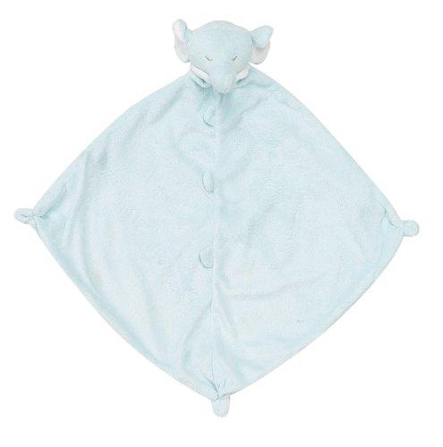 Angel Dear Swaddle and Blankie Combo Gift Set Blue Elephant