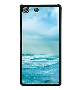 Sea 2D Hard Polycarbonate Designer Back Case Cover for Sony Xperia M5 Dual :: Sony Xperia M5 E5633 E5643 E5663